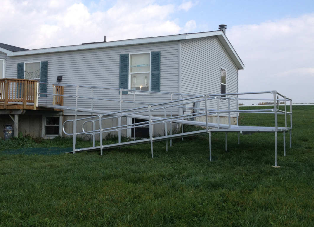Portable wheelchair ramps denver portable ada ramps for Ada mobile homes