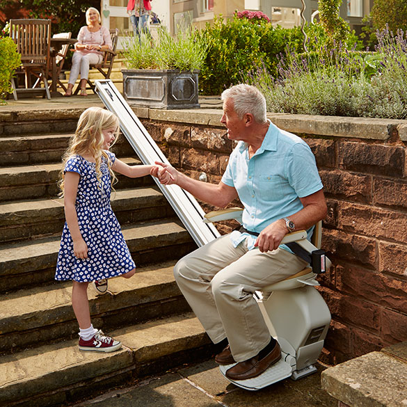 Acorn Stairlifts Denver Co Acorn 130 Outdoor Stairlift