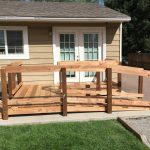 Wooden Wheelchair Ramp for Home
