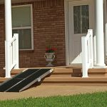 Portable Wheelchair Ramp On Front Stairs
