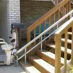 Hawle Stairlift Outside Staircase