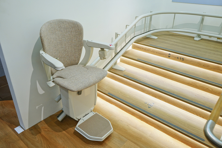 Illuminated Stair Lift